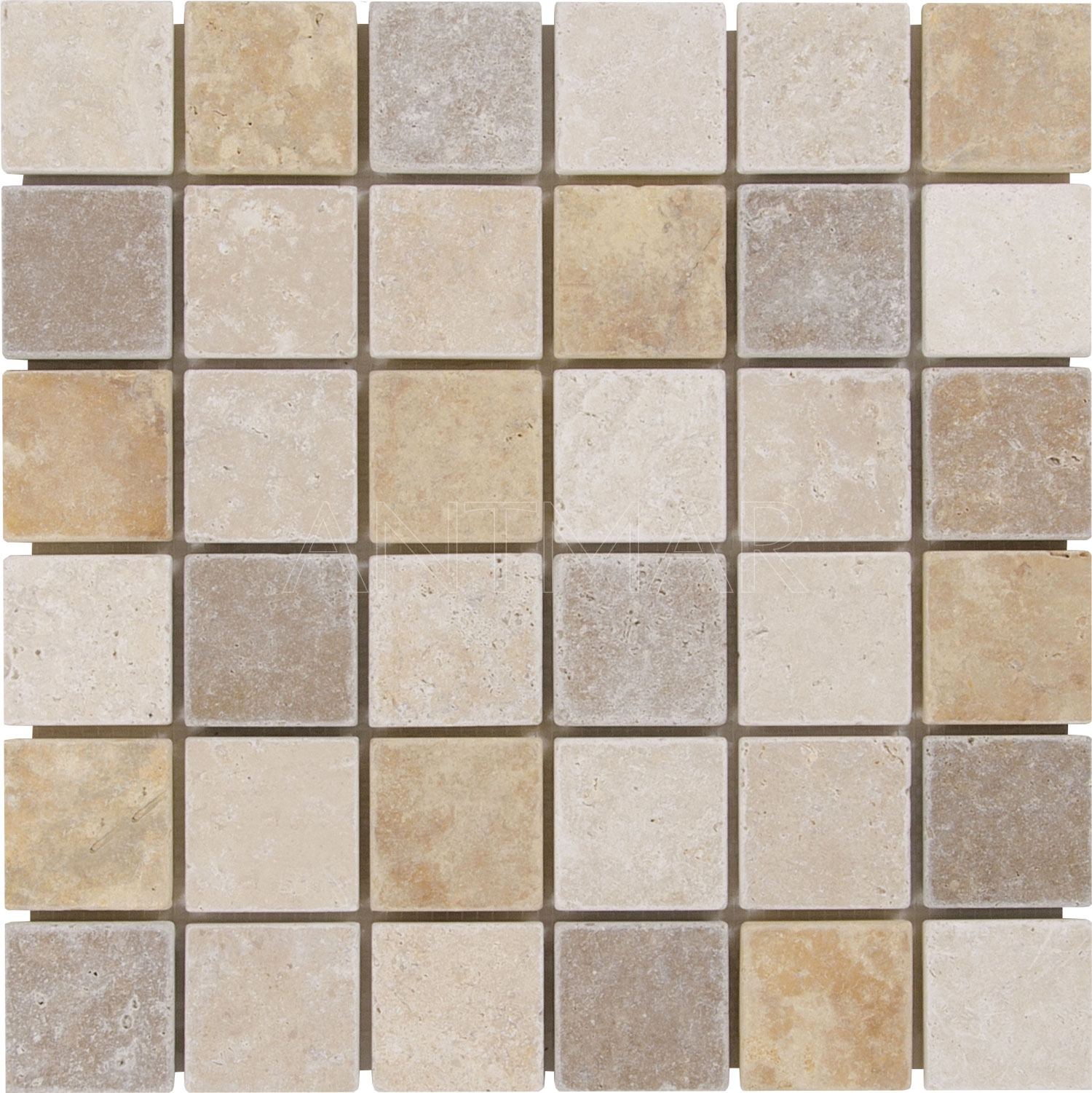 Mix Mosaique Finition Vieillie 4.8×4.8×1