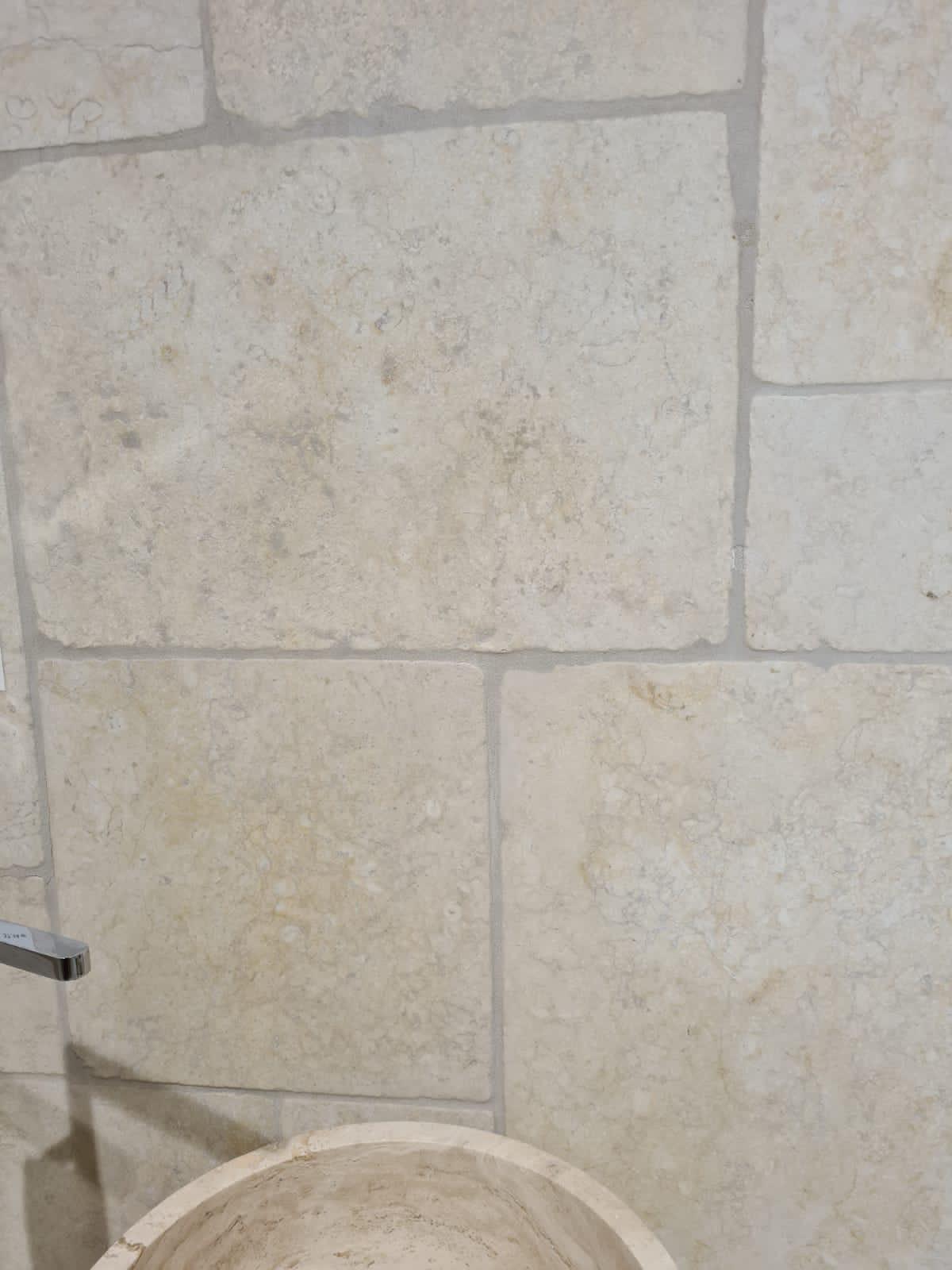 Jerusalem Stone 40.6x61x1.2 Finition Vieillie