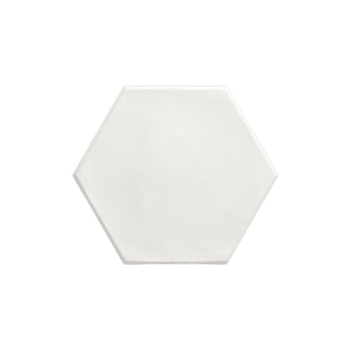 15×17.3 HEX Reometry White Matt